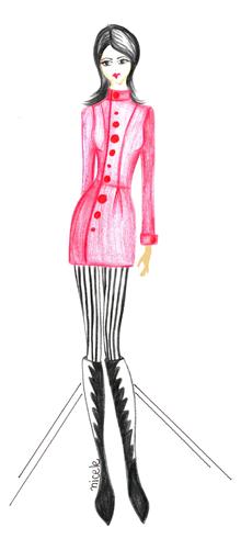Modismos: O desenho na Moda