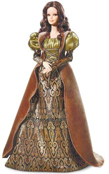 Barbie ganha versão Monalisa, de Da Vinci