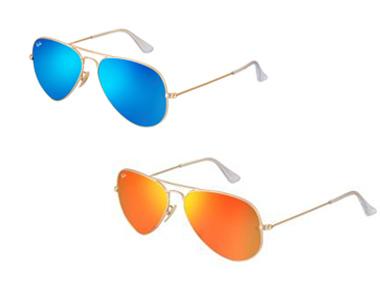 Revista O Polvo - Novos óculos espelhados da Ray-Ban chegam à ... 97050d2761