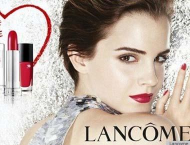 Emma Watson é o rosto da campanha da Lancôme