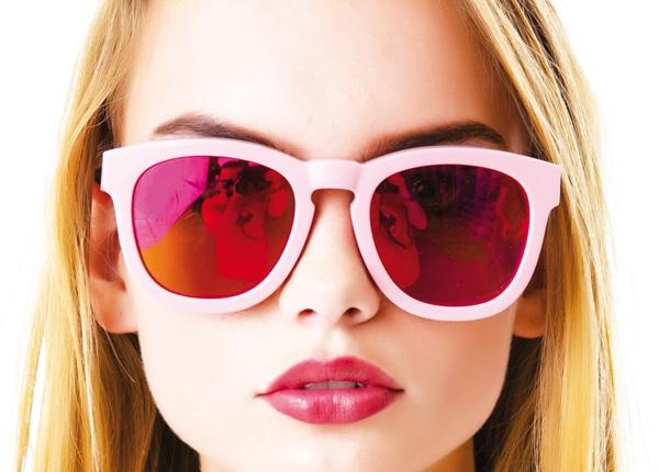 cb0949d65aa20 Revista O Polvo - Vai de óculos espelhados
